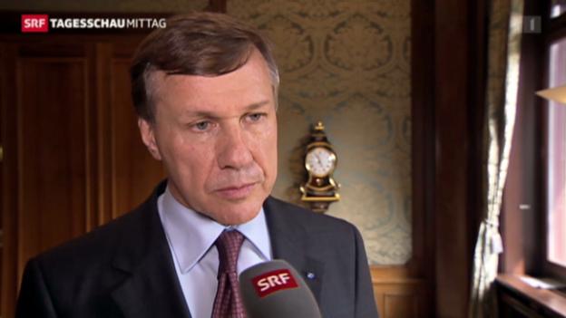 Video «Konzernchef Martin Senn bedauert den Entscheid» abspielen