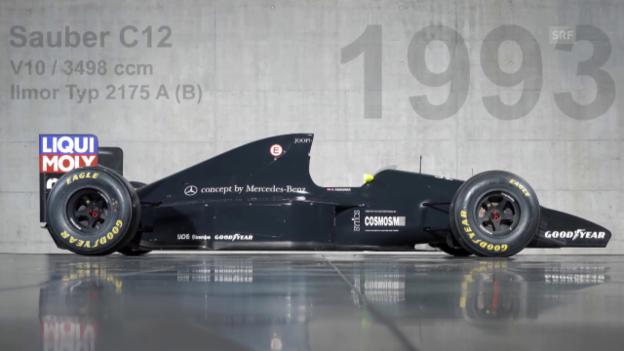 Video «Formel 1: Rückblick auf die Anfänge und Erfolge von Team Sauber» abspielen