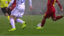Link öffnet eine Lightbox. Video Welch Traumpass! Hazard leitet Belgiens 1:0 herrlich ein abspielen