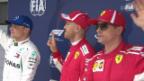Video «Rote Frontreihe beim Qualifying in China» abspielen