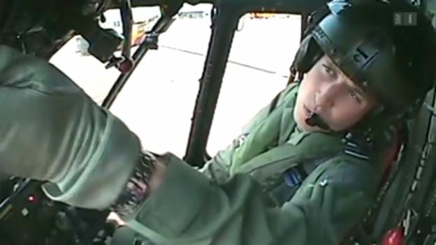 Video «Prinz William nimmt Arbeit wieder auf» abspielen