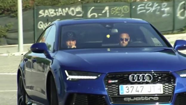 Video «Neymar vor Wechsel zu Paris SG» abspielen