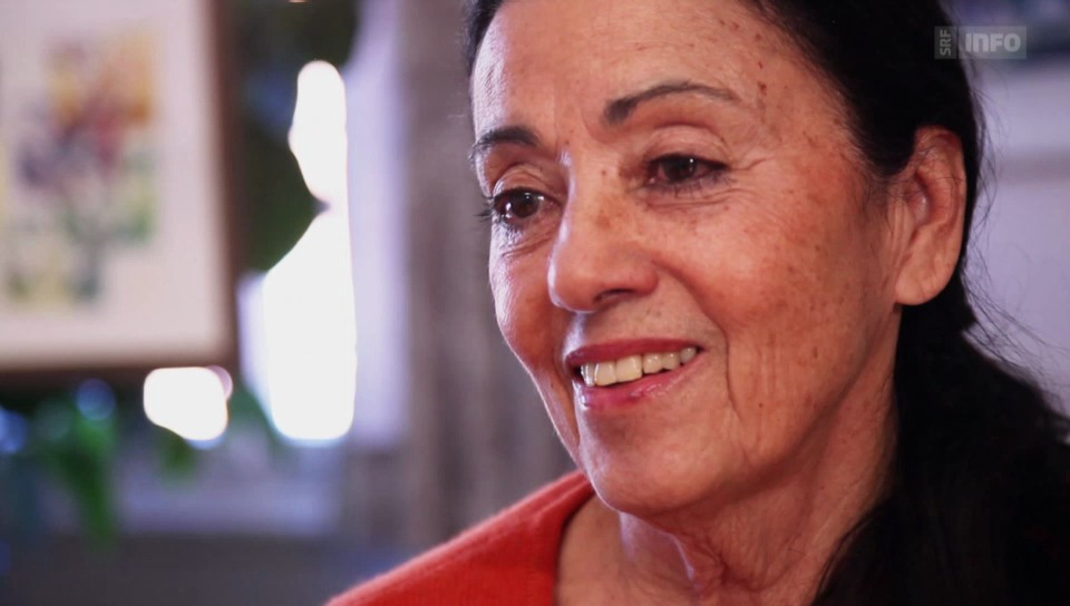 Carmen Würth betrachtet Kunst am liebsten mit ihrem Sohn.