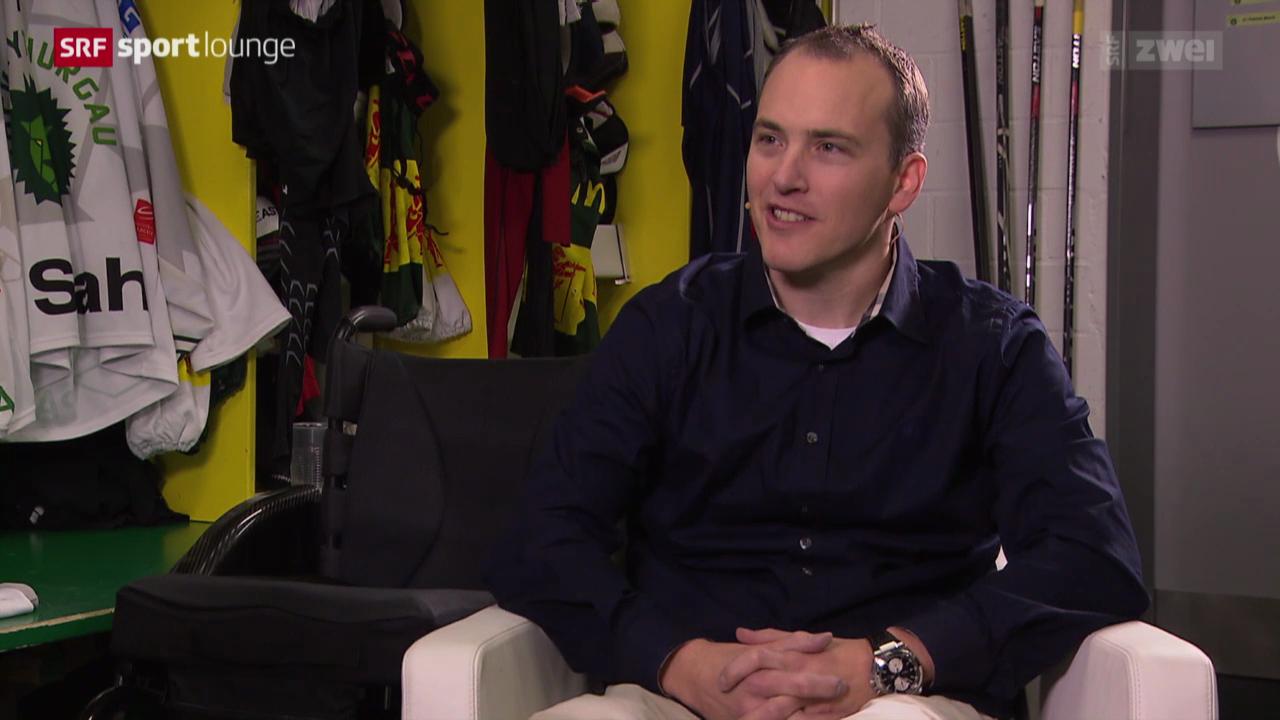 Ronny Keller – nach seinem schweren Unfall zurück im Eishockey
