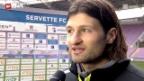 Video «Fussball: SL, Stimmen aus Genf» abspielen