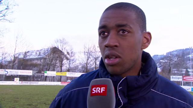 Gelson Fernandes vor Basel-Spiel