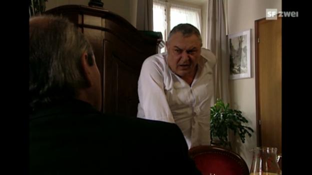 Video «Mathias Gnädinger als Ruedi in «Lüthi und Blanc» (Ausschnitt)» abspielen