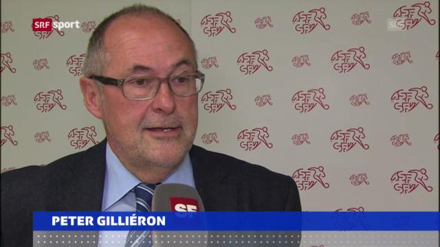 Fussball: Peter Gilliéron wiedergewählt