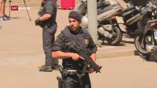 Video «Barcelona: Attentäter von Polizei erschossen» abspielen