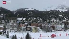 Video «Umstrittene Abzockerliste am WEF in Davos» abspielen