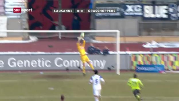 Video «Fussball: Lausanne - GC («sportpanorama»)» abspielen