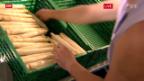 Video «Weisse Spargeln gefragt wie nie» abspielen