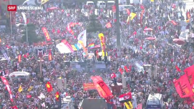 Video «Lage in der Türkei angespannt» abspielen