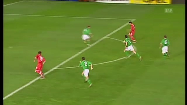 Celestinis Tor gegen Irland 2002