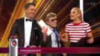 Video «Die Entscheidung und Siegerehrung von Polo Hofer» abspielen
