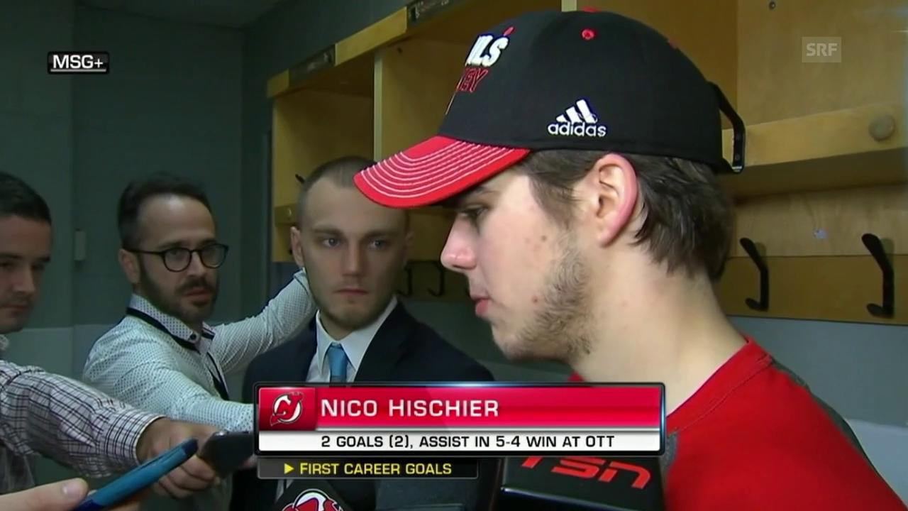 Hischier: «Es fühlt sich gut an»