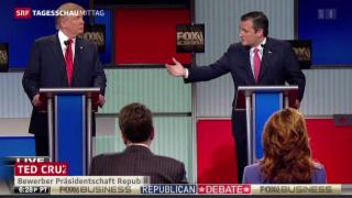 Video «Wortgefecht zwischen Trump und Cruz» abspielen