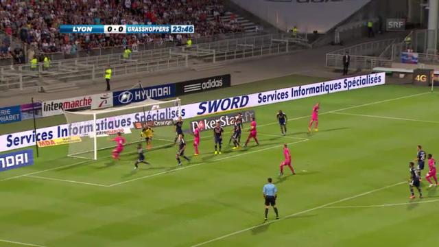 Die Torchancen von GC gegen Lyon