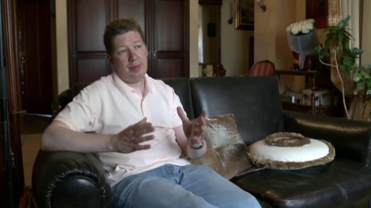 Unternehmer Alexei Koslow war der Willkür des Staates ausgesetzt.