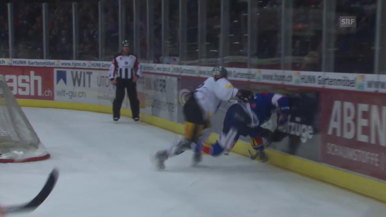 Eishockey: Suters Tor gegen Zug