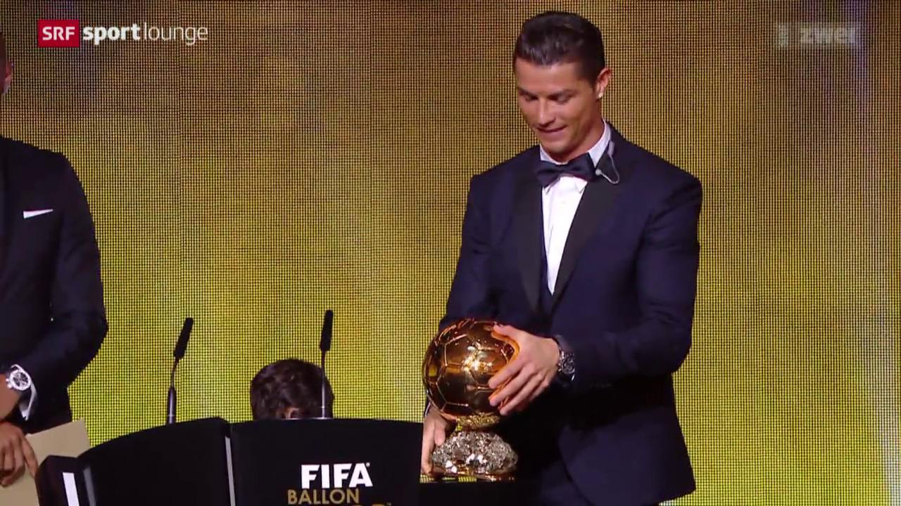 Fussball: Verleihung des Ballon d'Or in Zürich