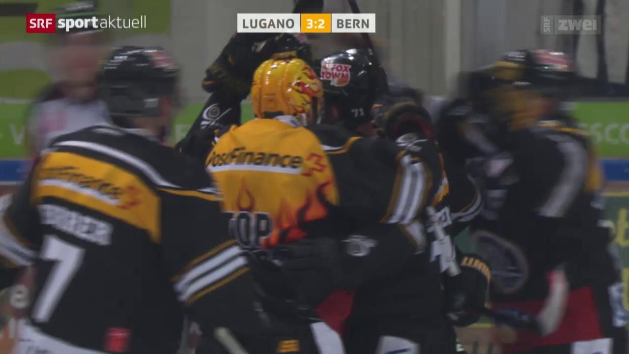 Eishockey: NLA, Lugano - Bern