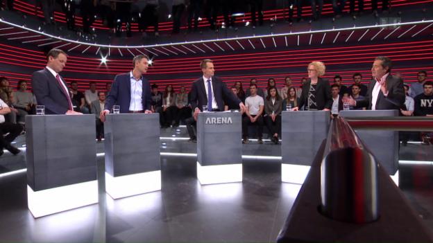 Video «Arena: Trumps Krieg gegen die Medien» abspielen