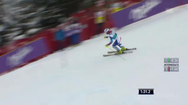 Video «Ski: 2. Lauf Marc Gini («sportlive»)» abspielen