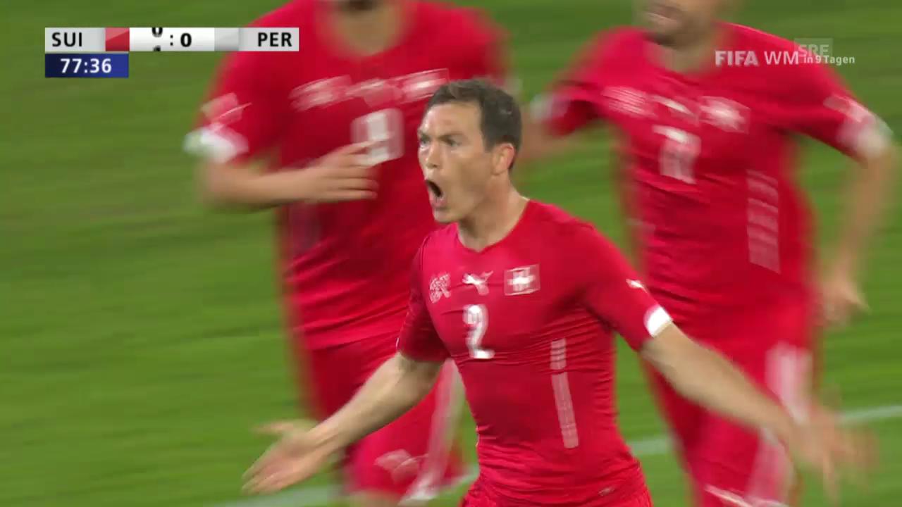 Fussball: Schweiz - Peru: Die Highlights