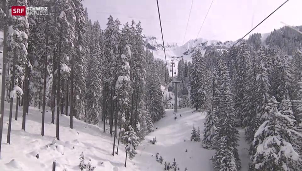 Pech für Berner Oberländer Skigebiete