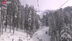 Video «Pech für Berner Oberländer Skigebiete» abspielen