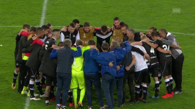 Video «Zusammenfassung Lugano-Viktoria Pilsen» abspielen