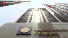 Video «In Singapur nimmt man Datenleck gelassen» abspielen