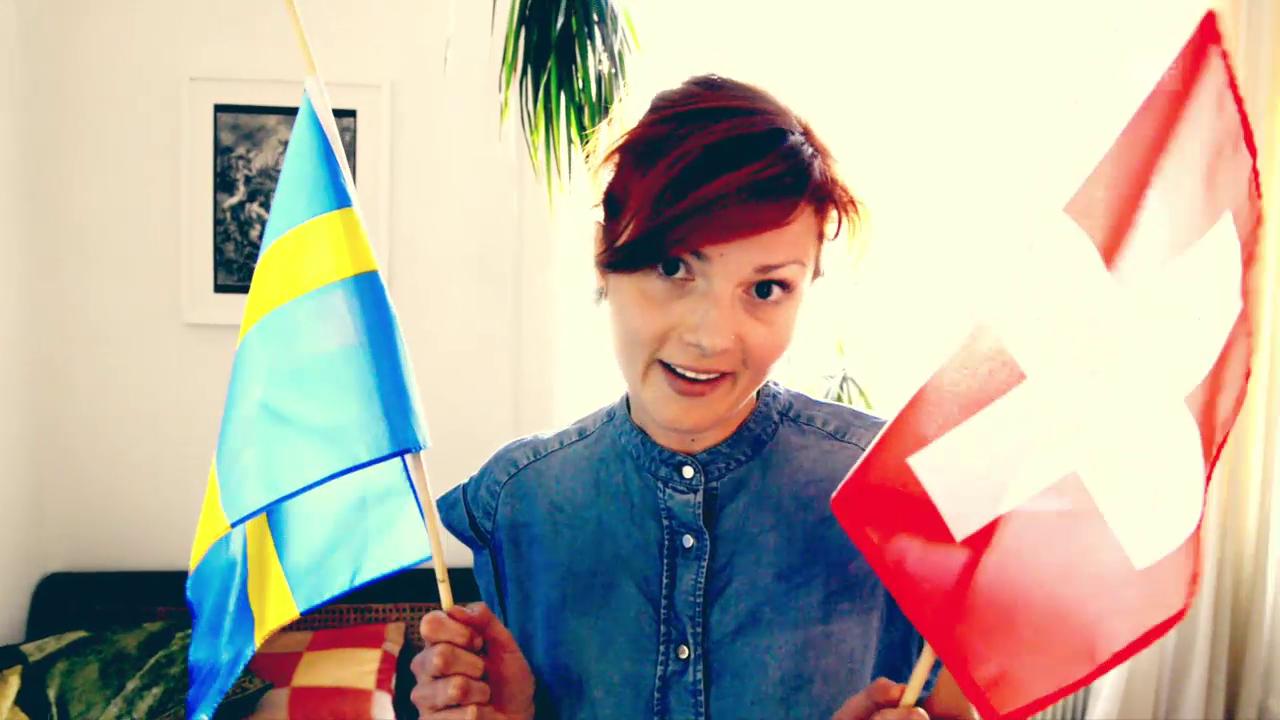 Rosanna packt für Stockholm