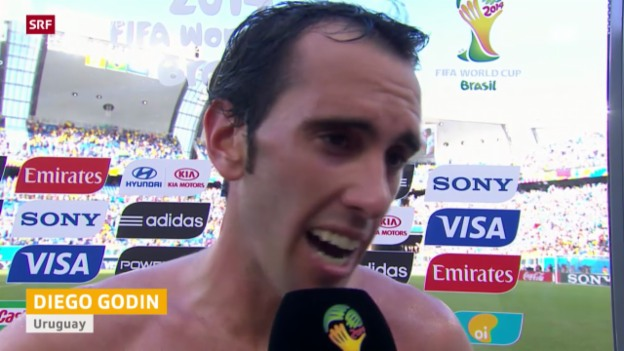 Video «FIFA WM 2014: Interview mit Diego Godin» abspielen