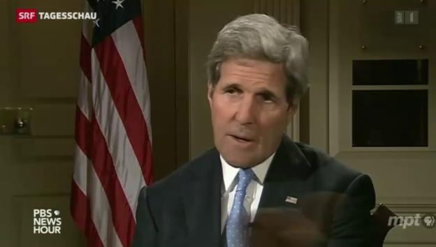 Video «Jemen-Konflikt: US-Aussenminister Kerry warnt den Iran» abspielen