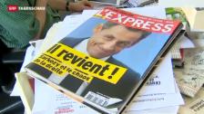 Video «Nicolas Sarkozy meldet sich zurück» abspielen