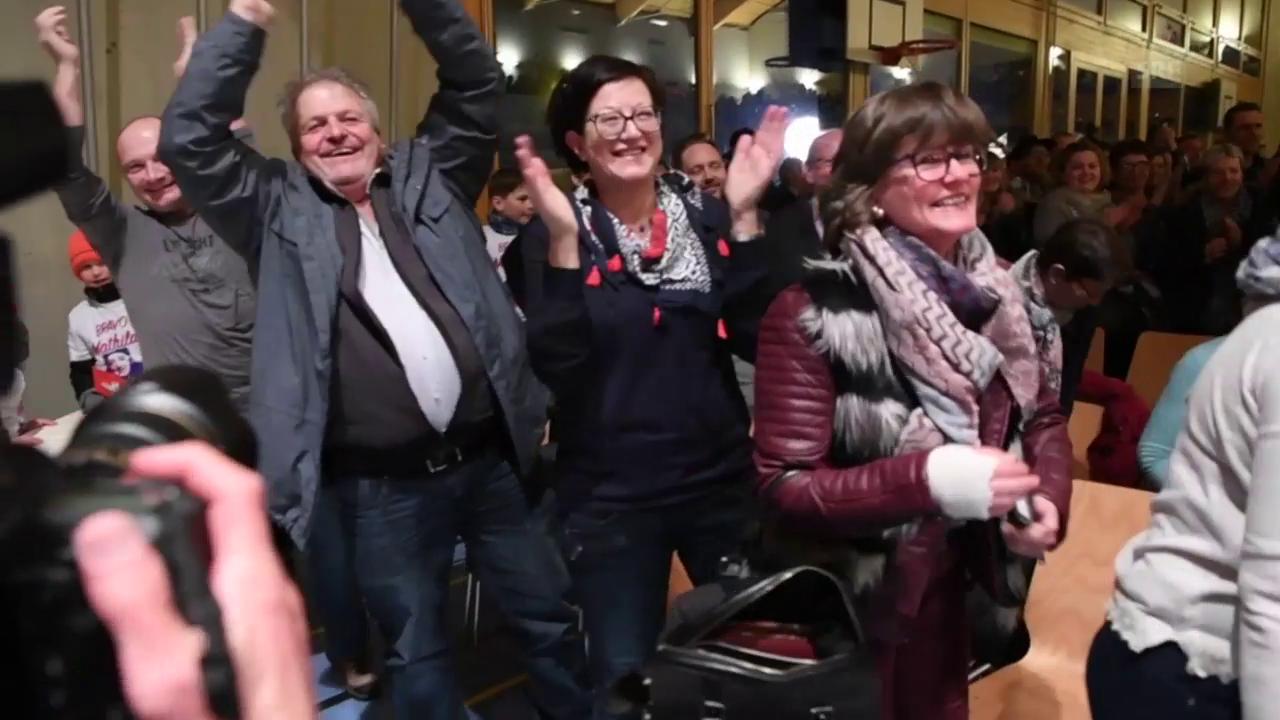 Mathilde Gremaud in der Heimat gefeiert