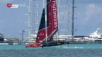 Video «Team New Zealand legt am America's Cup vor» abspielen