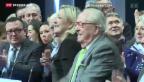 Video «Vater Le Pen gewinnt Prozess gegen Tochter Le Pen» abspielen