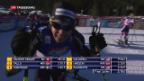 Video «Zweiter Weltcup-Sieg für Van der Graaff» abspielen