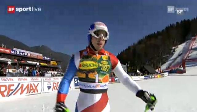 Kranjska Gora: 2. Lauf von Carlo Janka