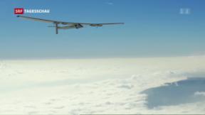 Video «Solar Impulse 2 schafft es über den Ozean» abspielen