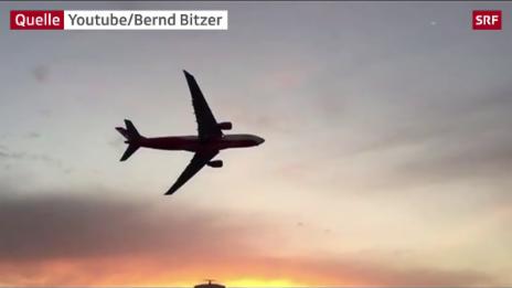 Link öffnet eine Lightbox. Video Ehrenrunde nach letztem Air-Berlin-Flug von Miami nach Düsseldorf abspielen