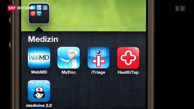 Video «Experten warnen vor Selbstdiagnose-Apps» abspielen