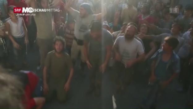 Video «Rebellen vermelden Durchbruch in Aleppo» abspielen