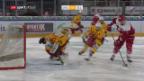 Video «Lausanne schlägt Langnau» abspielen