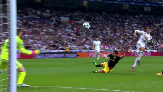 Video «Real-Atletico: Zusammenfassung» abspielen