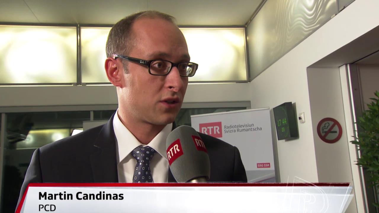 2 ulteriurs reelegids – Martin Candinas e Silva Semadeni