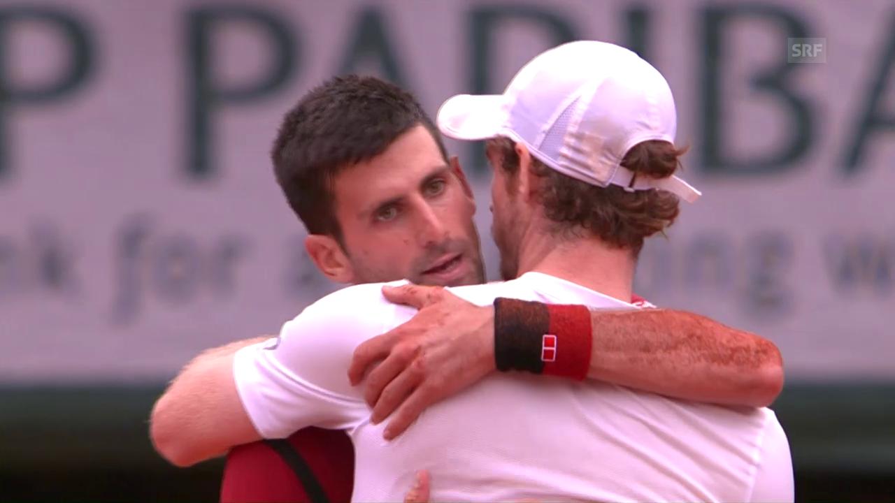 So gewann Djokovic die French Open